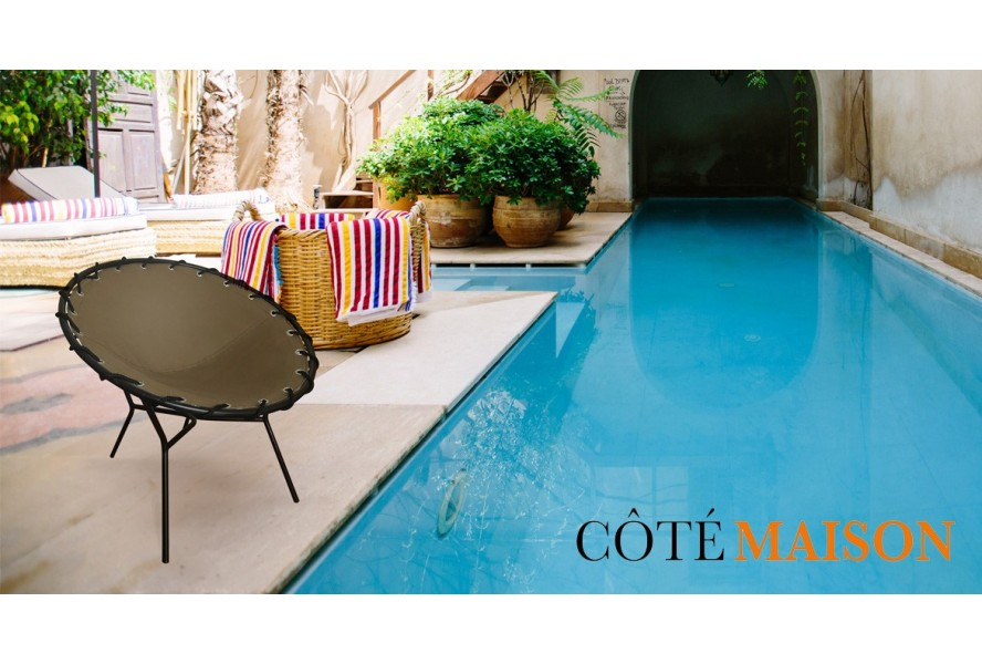 COTÉ MAISON talks about our chair, Leonie, as a chic and trendy piece